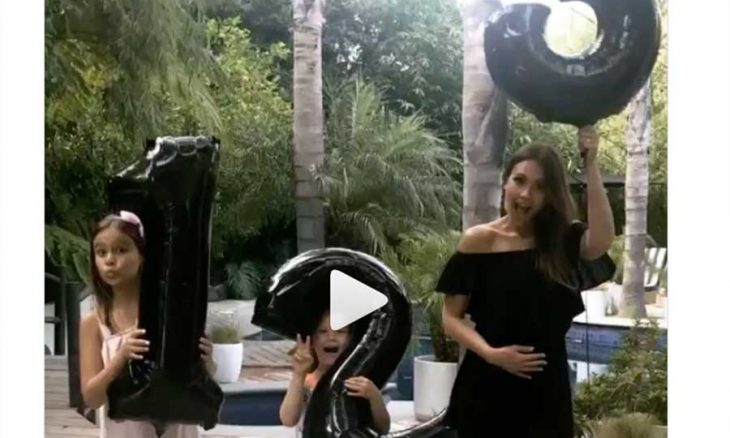 No Instagram Jessica Alba anuncia terceira gravidez com vídeo