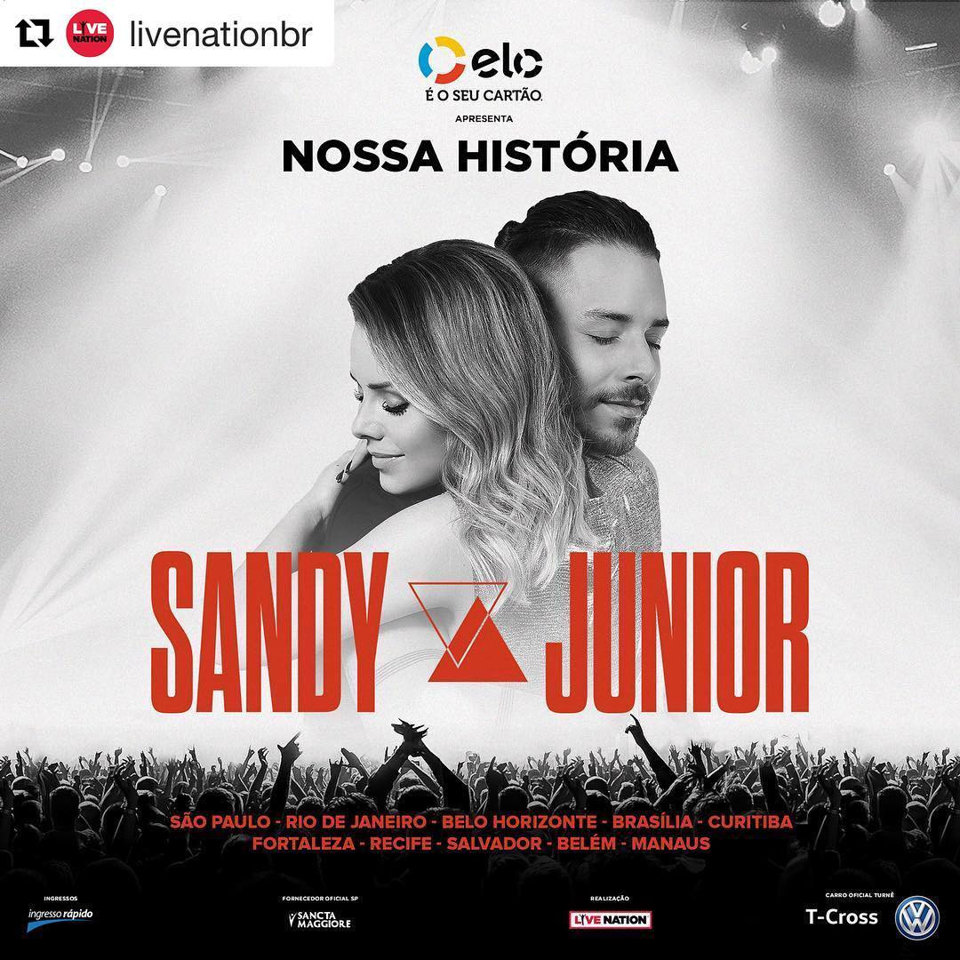 Sandy e Junior anunciam turnê