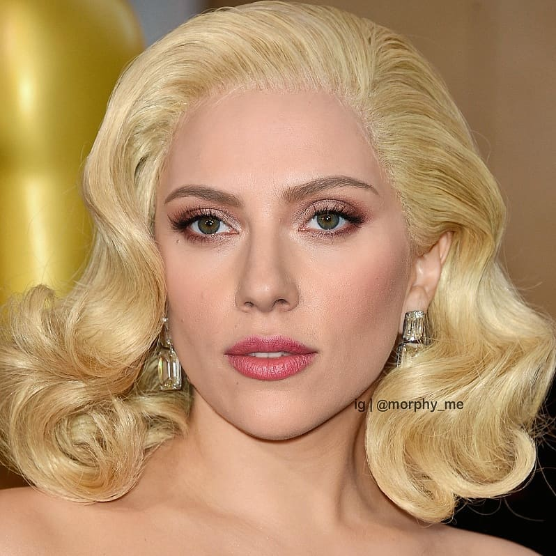 Lady Gaga & Scarlett Johansson