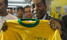 O ex-jogador de futebol Pelé