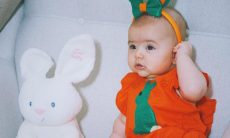 Sabrina Sato posta foto de Zoe vestida de coelho / Reprodução Instagram