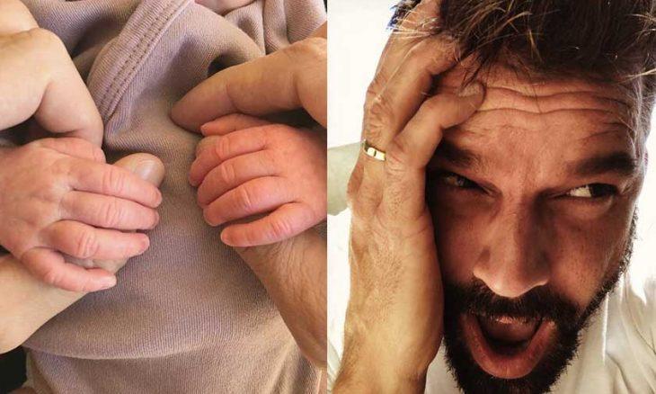 Ricky Martin e seu marido se tornaram pais de uma menina
