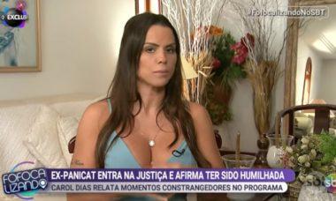 Carol Dias, ex-panicat, processa Band por assédio moral e sexual