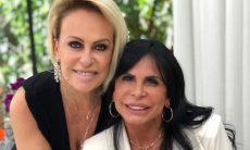 """Ana Maria Braga recebe Gretchen no programa """"Mais Você"""""""