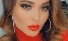 "Geisy Arruda posta vídeo ousado e declara: ""Tentando resistir ao frio"""