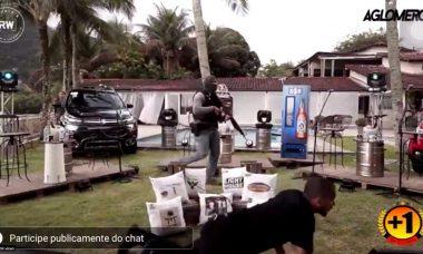Live do grupo de pagode Aglomerou é interrompida por tiroteio e cenas chocam fãs