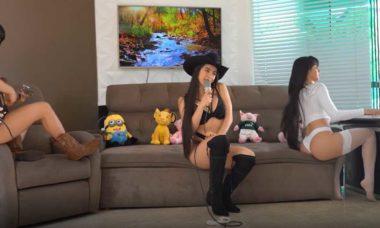 Juliana Caetano faz vídeo de lingerie e mostra suas três 'gêmeas'. Foto: Reprodução Instagram