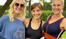 """Ana Hickmann surpreende os fãs com clique raro ao lado das irmãs: """"amor único"""""""
