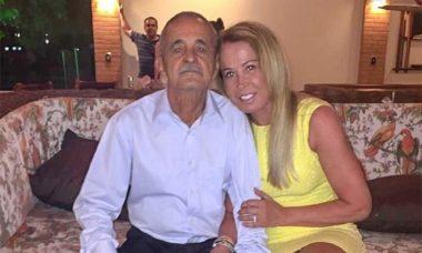 Zilu Godói posta homenagem e lamenta a morte de Seu Francisco, seu ex-sogro