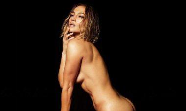 """Jennifer Lopez aparece nua na capa da sua nova música """"In The Morning"""""""