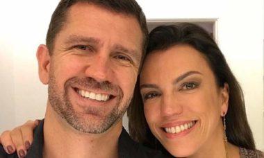 "A jornalista da Globo Ana Paula Araujo parabeniza o namorado: ""todo o meu amor"""