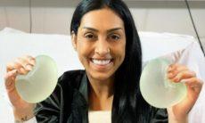 """Amanda Djehdian comenta sobre remoção do silicone dos seios: """"Meu corpo pedia socorro"""""""