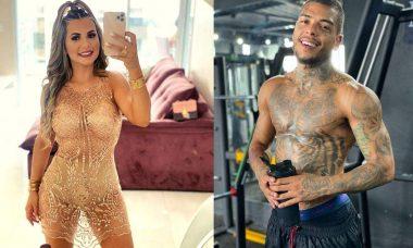"""Ex de MC Kevin o expõe nas redes sociais após ele postar foto com mulher nua: """"supera"""""""