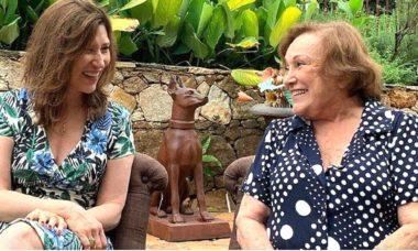 Beth Goulart volta as redes sociais para pedir orações à sua mãe, Nicette Bruno