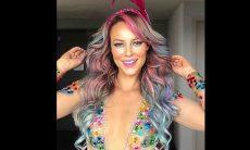 Paolla Oliveira encanta fãs com posts curtindo o Carnaval em casa. Foto: Reprodução Instagram