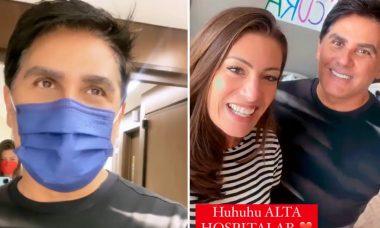 César Filho recebe alta hospitalar após internação por Covid-19