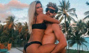 "Antonia Morais e Paulo Dalagnoli comemoram um ano de namoro: ""amor sempre vence"""