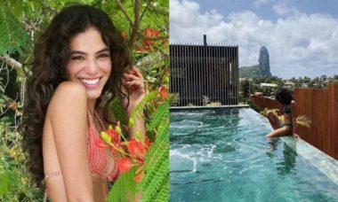 Bruna Marquezine posta novos cliques da viagem à Fernando de Noronha