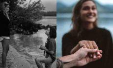"""Sasha Meneghel revela que está noiva de João Figueiredo: """"amor da minha vida"""""""