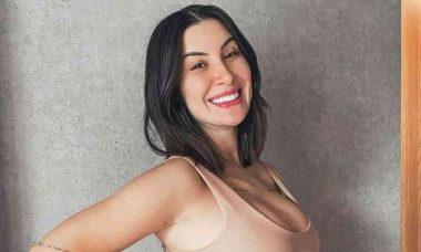 Grávida, Bianca Andrade exibe barriga de 5 meses: 'não para de crescer'