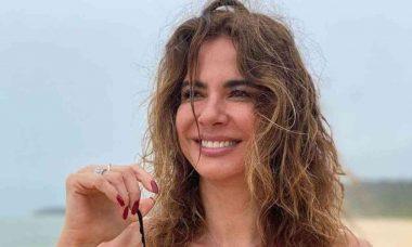 Luciana Gimenez posa nua para protestar por assédio: 'respeito'