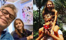 Fabio Assunção posta vídeo divertido com a filha: 'pai pentelho'
