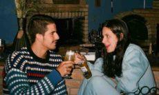 Enzo Celulari posa ao lado da irmã Sophia: 'amo tu'