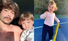 Rafael Vitti encanta os fãs ao mostrar filha andando de skate