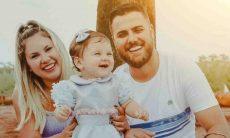 Zé Neto e esposa celebram 'mêsversário' da filha caçula: 'muito amor'