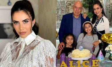 Daniela Albuquerque celebra aniversário da filha em mansão de luxo