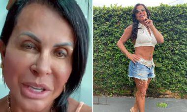 """Gretchen fala sobre barriga sarada após acusações de plástica: """"300 abdominais por dia"""""""