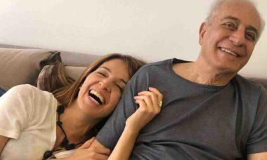 Poliana Abritta lamenta a morte do pai: 'a despedida mais sofrida'