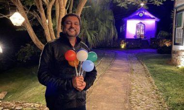 """Geraldo Luís celebra aniversário e relembra cura do coronavírus: """"Duas datas de nascimento"""""""