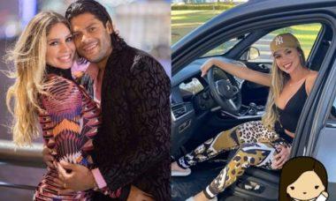Hulk dá carro de R$ 1 milhão de presente de formatura para a esposa