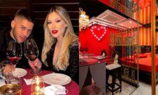 Virginia e Zé Felipe celebram 1 ano de namoro em motel de luxo de SP