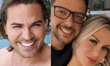 """""""Fiquei amolando meu chifre"""", lamenta marido de affair de Eduardo Costa"""