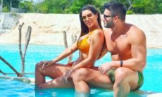 Ivy Moraes e namorado curtem viagem juntos: 'difícil ficar longe de você'