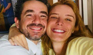 Rafa Brites exibe momento em que contou da gravidez à Felipe Andreoli