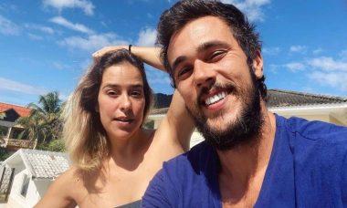 Paloma Duarte celebra 10 anos de relação com Bruno Ferrari: 'vida linda'