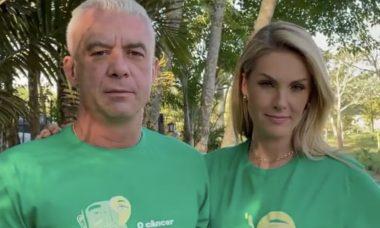 Alexandre Correa e Ana Hickmann falam sobre campanha Julho Verde
