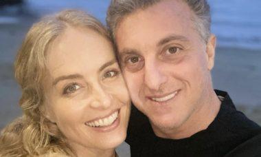 """Angélica celebra aniversário de Luciano Huck: """"Te amo mais ainda, cinquentão"""""""