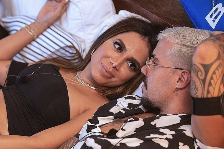 """Lipe Ribeiro relembra affair com Anitta: """"Acrescentou muito na minha vida"""""""