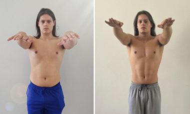 Filho de Mayra Cardi mostra progresso do corpo após começar a malhar