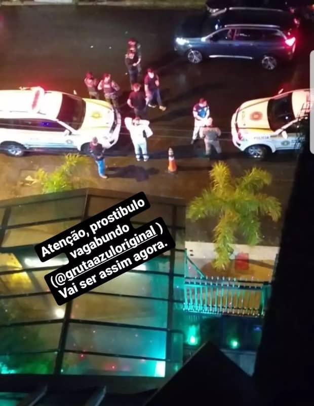 Andressa Urach alega que ex mandou policiais para boate onde faria show (Foto: Reprodução/Instagram)