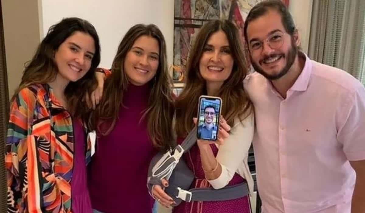 Fátima Bernardes faz homenagem aos filhos: 'estarei sempre por aqui'