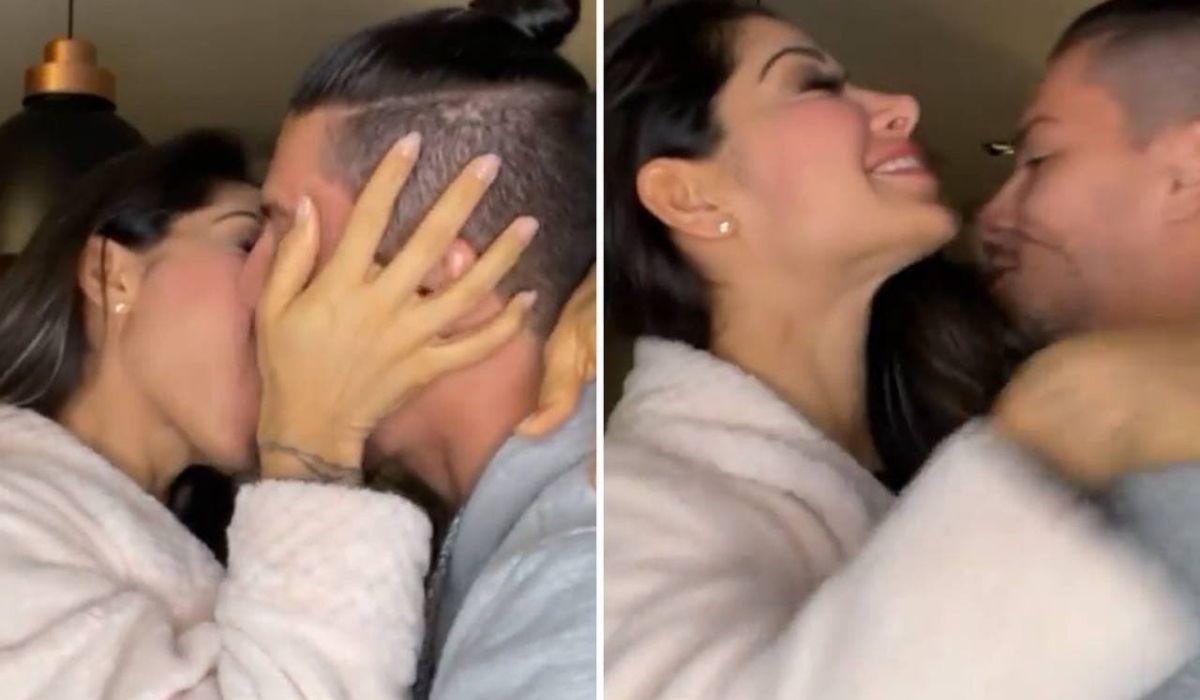 Reconciliação! Mayra Cardi posta vídeo aos beijos com Arthur Aguiar