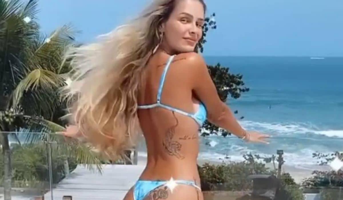 Yasmin Brunet encanta fãs com vídeo de biquíni: 'quando o sol sai'
