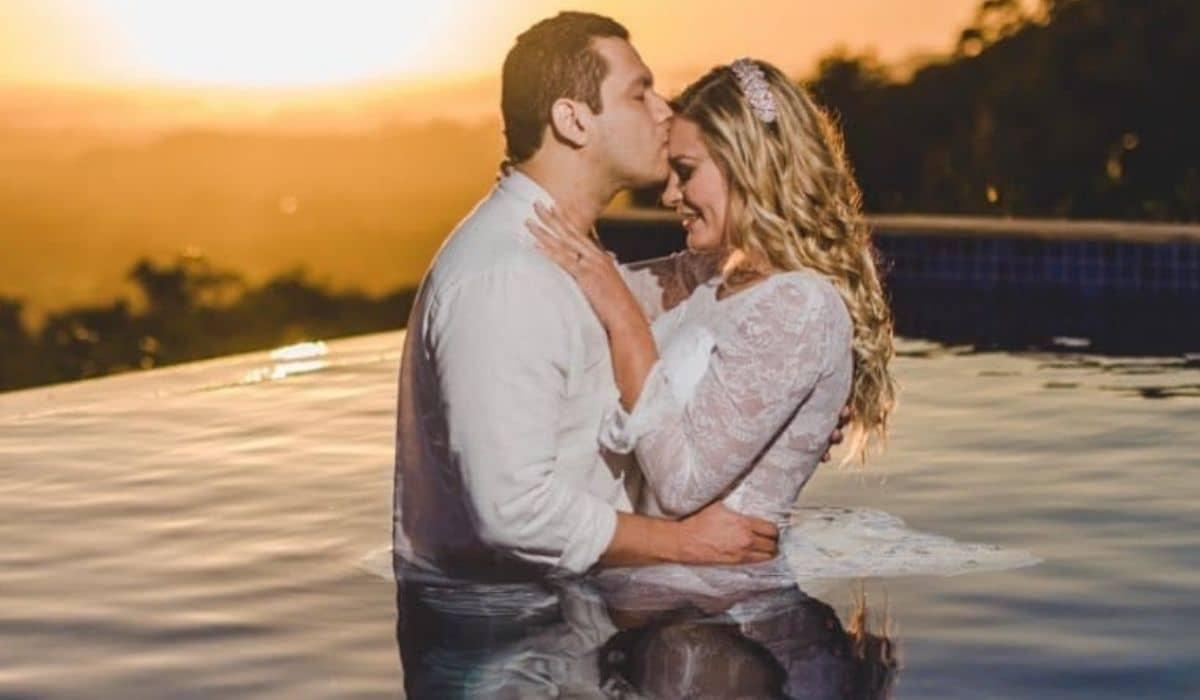 Após reconciliação, Andressa Urach posa com marido: 'o amor venceu'