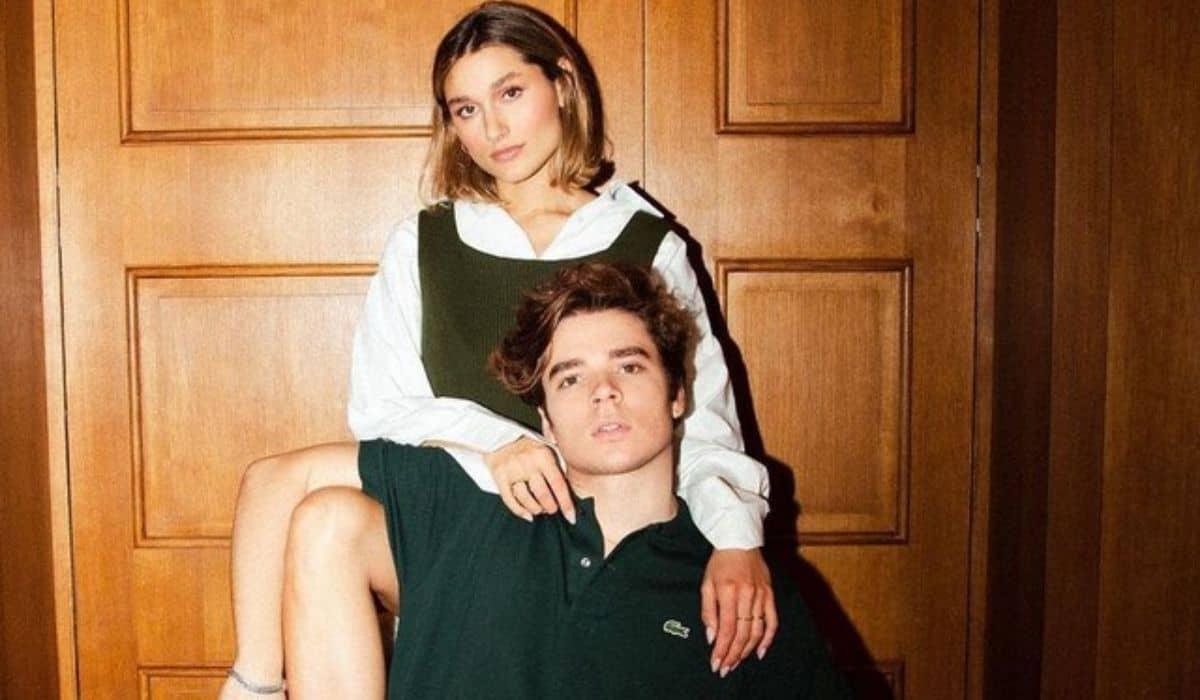 João Figueiredo e Sasha encantam ao posar combinando looks de grife