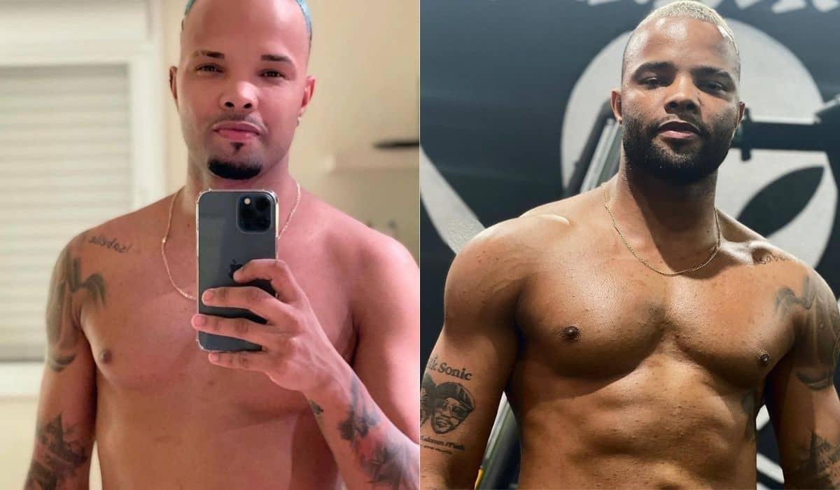 MC Zaac exibe antes e depois do corpo após projeto fitness: 'dedicação'